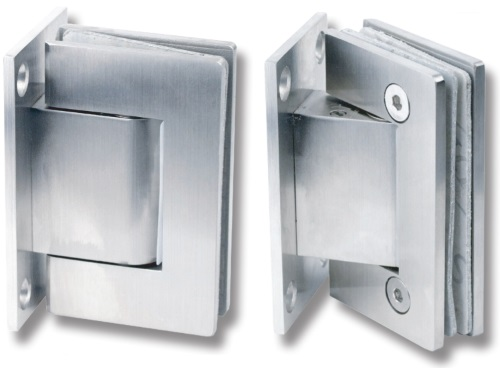 Wall Mounted Soft Closing Glass Door Hinges