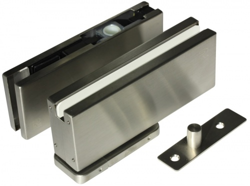 Oil Hydraulic Glass Door Patch Closer Kit Non Digging