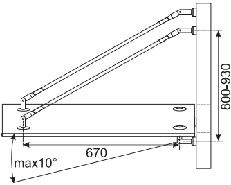4 Point Fixing Glass Canopy System Kerolhardware Co Uk