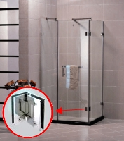 90 Degree Glass To Glass Hinge Shower Hinges Glass