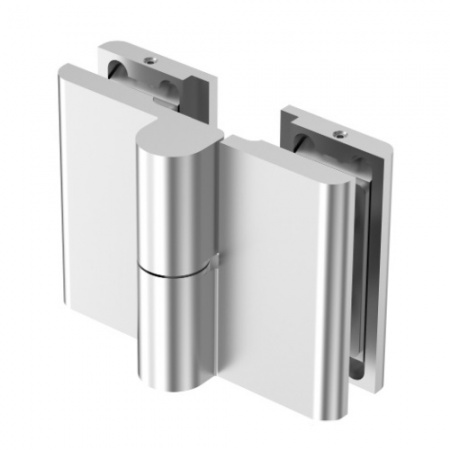 Rising Shower Door Hinge - 180° Glass to Glass