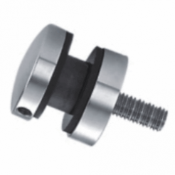 Ø50mm Glass Adapter with Flat Back