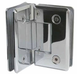 90° Glass-to-Glass Shower Door Hinge