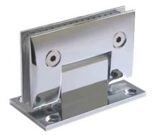 Contemporary Style Wall to Glass Hinge
