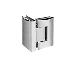 Contemporary Style 90° Glass-to-Glass Shower Door Hinge