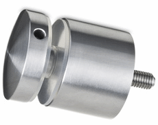 Extra Large Stainless Steel Glass Adapter