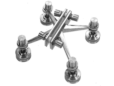 Four-Arm Fin Spiders Fittings
