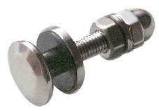 Small Fixed Bolt with Dome Nut