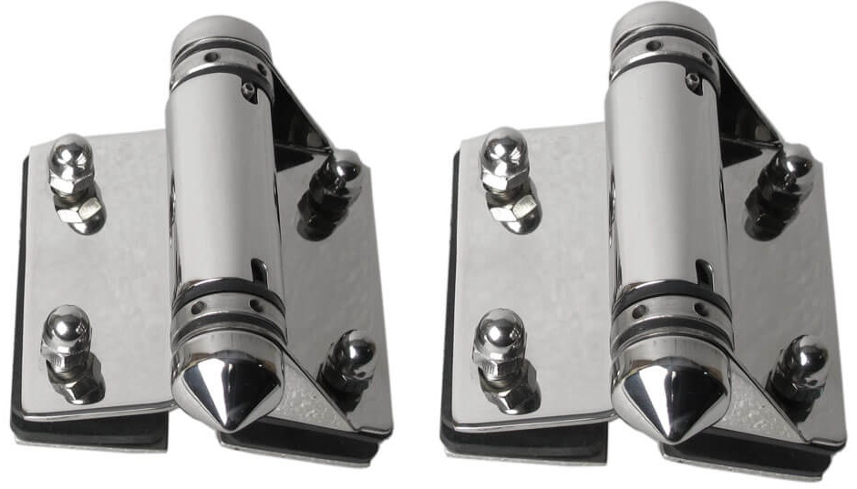 Glass Pool Gate Hinges (Glass-to-Glass)