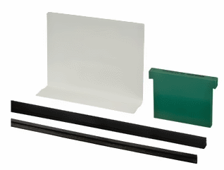 Safety Wedge Rubber Set for Alu-Slim Channel