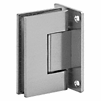 Wall Mounted Glass Door Hinge - Square Profile