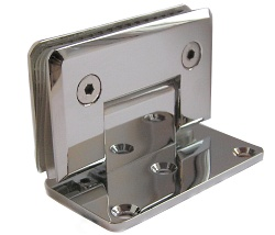 Wall Mounted Hinge with Offset Fixing Plate