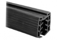 Rubber Profile for Cap Rail (Price per Metre)