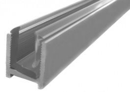 Shower U-Channels with Insert for 8 or 10mm Glass