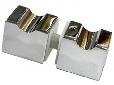 Square Shower Door Knobs - E-Z Grip Style