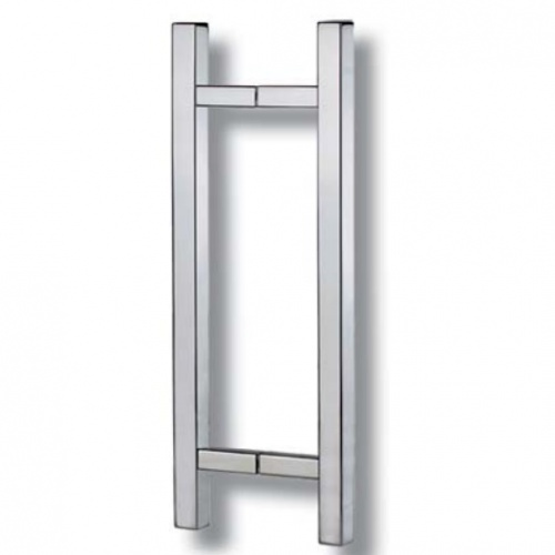 Square T-Bar Pull Handles for Glass Door