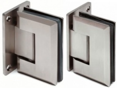 Stainless Steel Glass Door Hinge - Wall Mounted