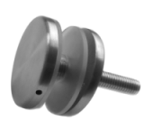 Ø 40mm Glass Adaptor with Flat Back
