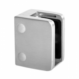 Square Glass Clamp with Flat Base for 13.52 - 21.52mm Glass
