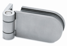 Wall-to-Glass Stainless Steel Door Hinge