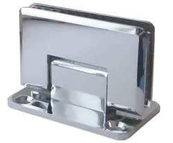 Wall To Glass Hinge With Centre Fixing Plate