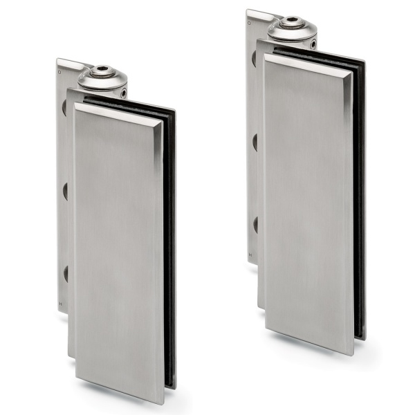 Wall Mounted Hydraulic Glass Door Hinge Set