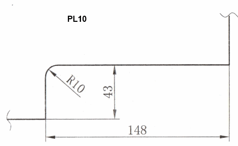 Cut-out for PL10