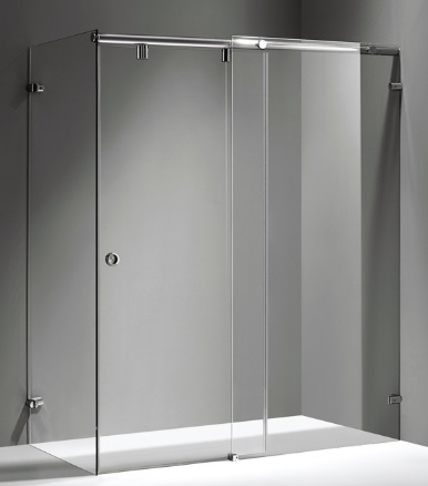 Sliding Door System for Shower