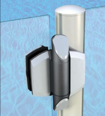 Adjustable Glass Gate Hinge For Round Post Kerolhardware