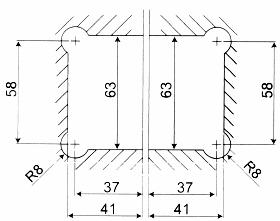 90 176 Glass To Glass Shower Door Hinge Kerolhardware Co Uk